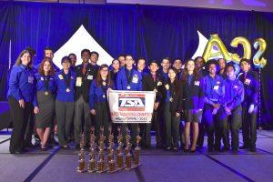 Winners of the 2019 TSA awards