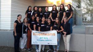 "High schoolers form a team called ""DIY Girls"""