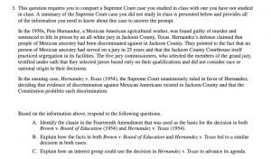 A sample of an SCOTUS comparison