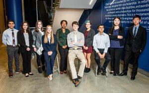 Members of the Clark Scholar Program posing for the camera