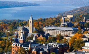 Cornell University Aerial View