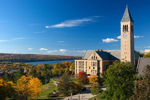Cornell University school building