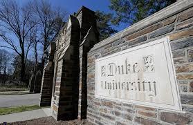 Duke University Sign