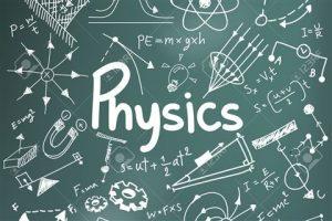 Board full of Physics formulas