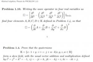 Abstract Algebra problem